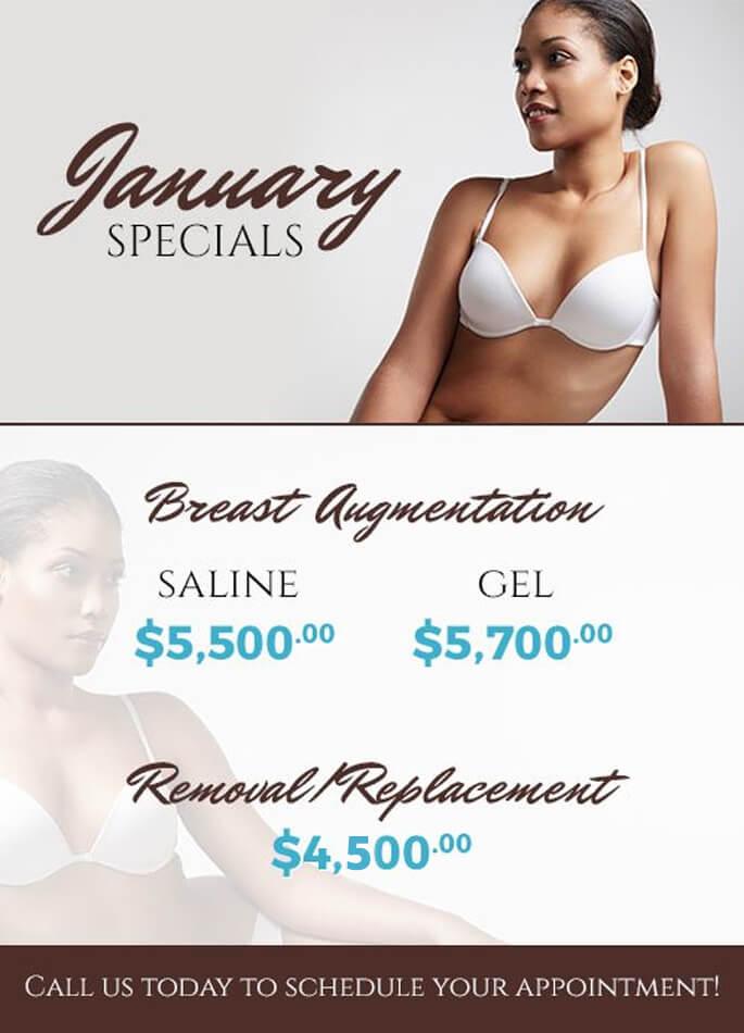 January specials!